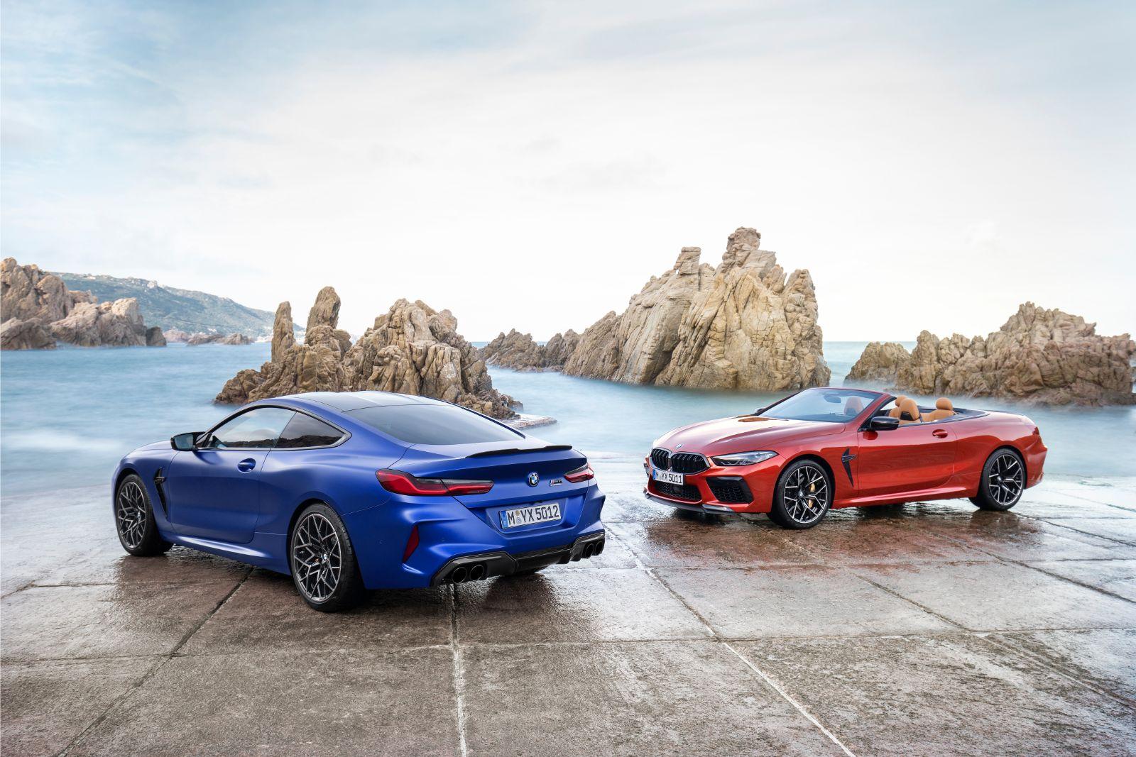 BMW prezintă noul M8 Coupe și Cabrio