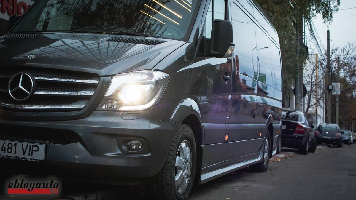 Test Drive Mercedes-Benz Sprinter Luxury 319 CDI 2017 [Review & Video]