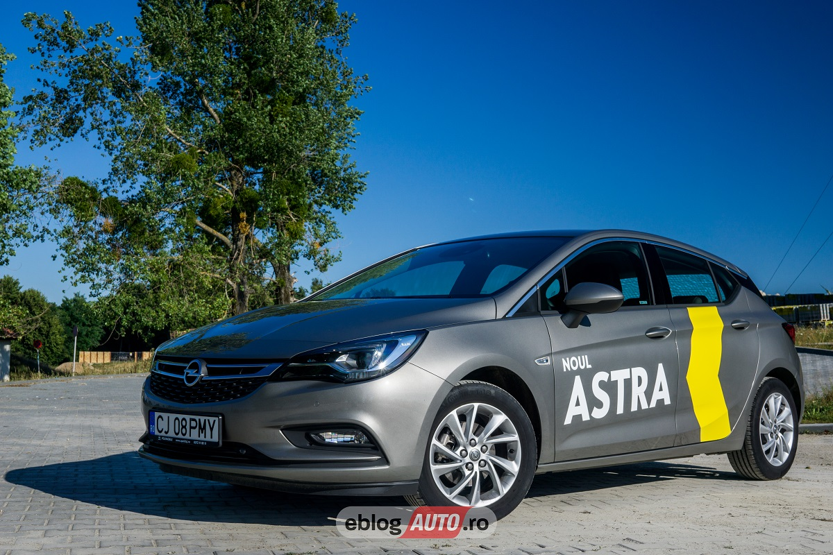 Test Drive Opel Astra K 1.4 Turbo 150 CP MT6 2017 [REVIEW & VIDEO]