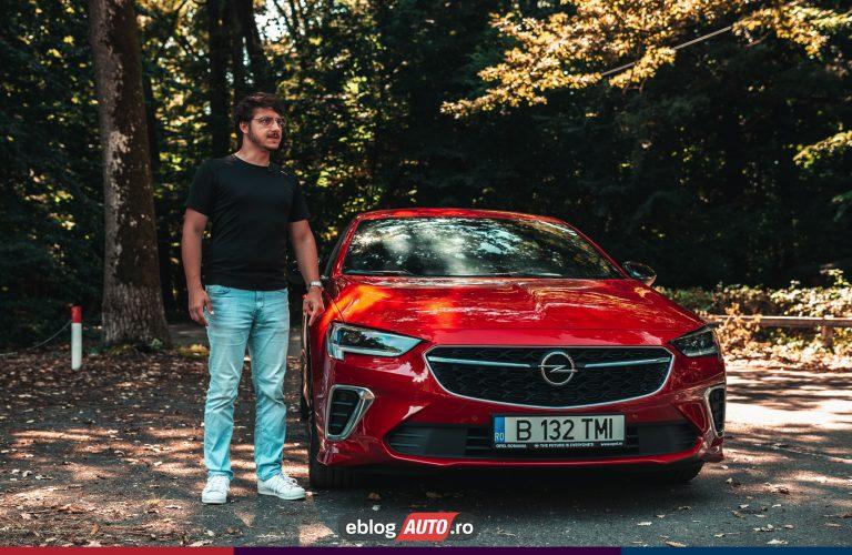 Test Drive Opel INSIGNIA GSi, ULTIMUL SEDAN?
