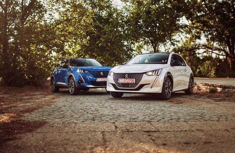 Lupta LEILOR electrici: Peugeot e208 vs e2008