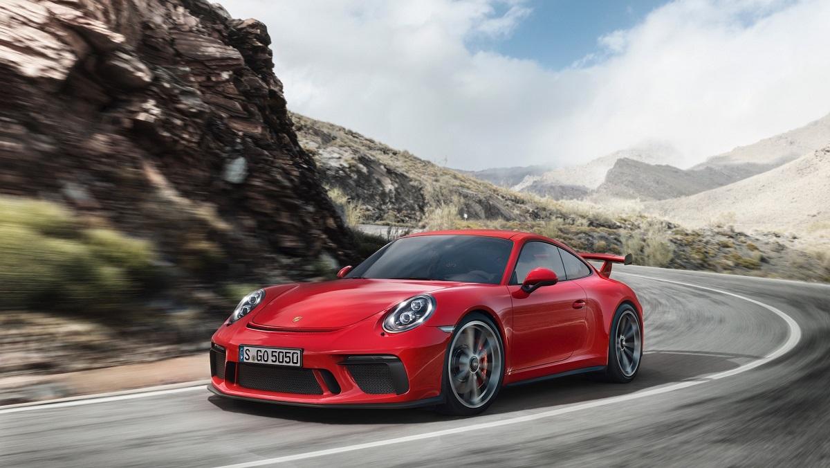 Noul Porsche 911 GT3