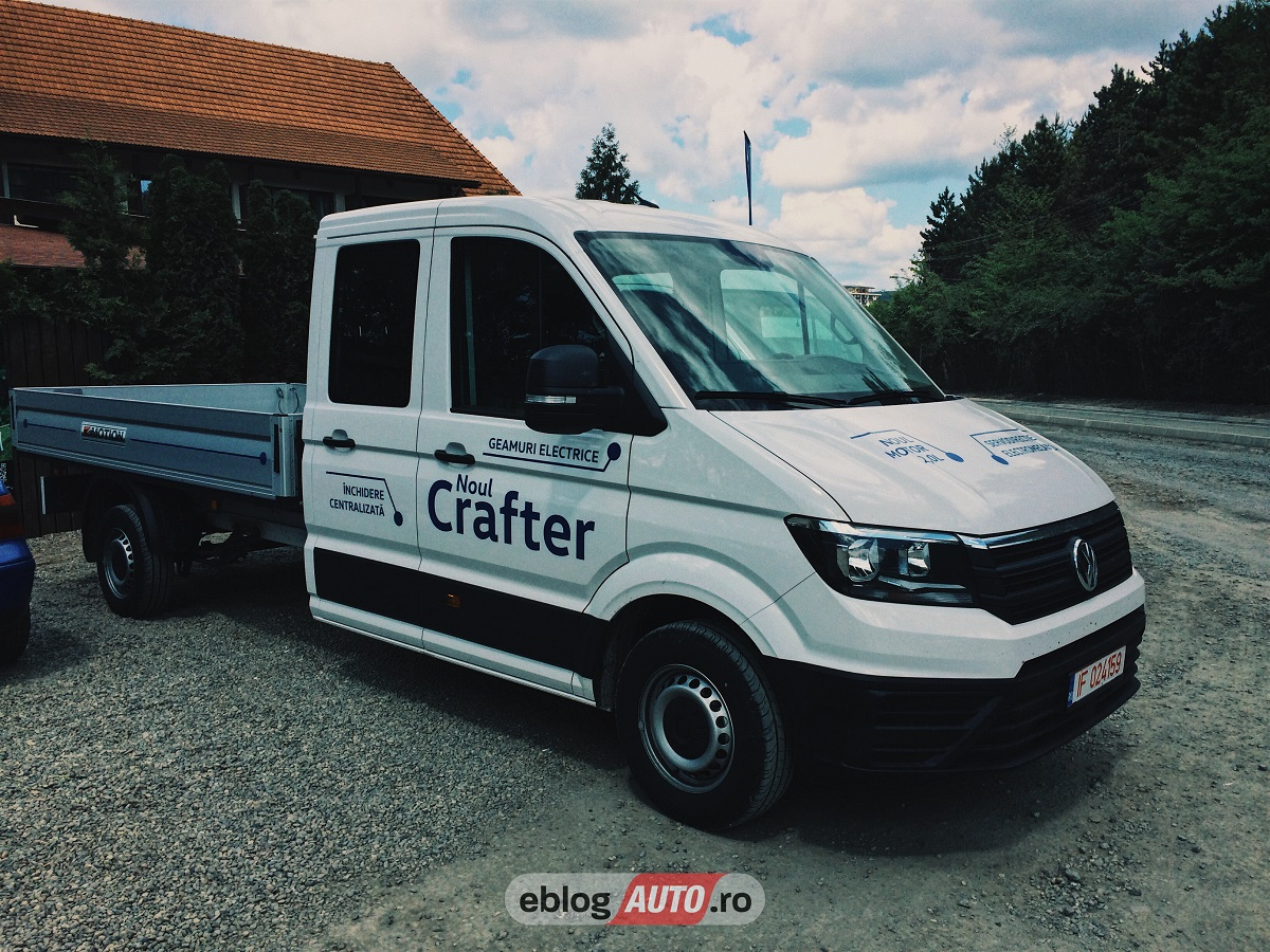 Test Drive Volkswagen Crafter 2017 [POV & REVIEW]