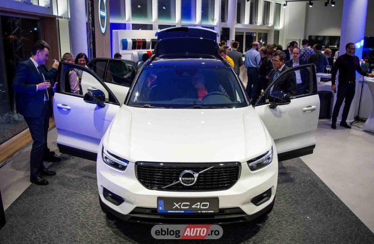 Eveniment Volvo Primus Auto: Lansare Volvo XC40 si concept showroom&service