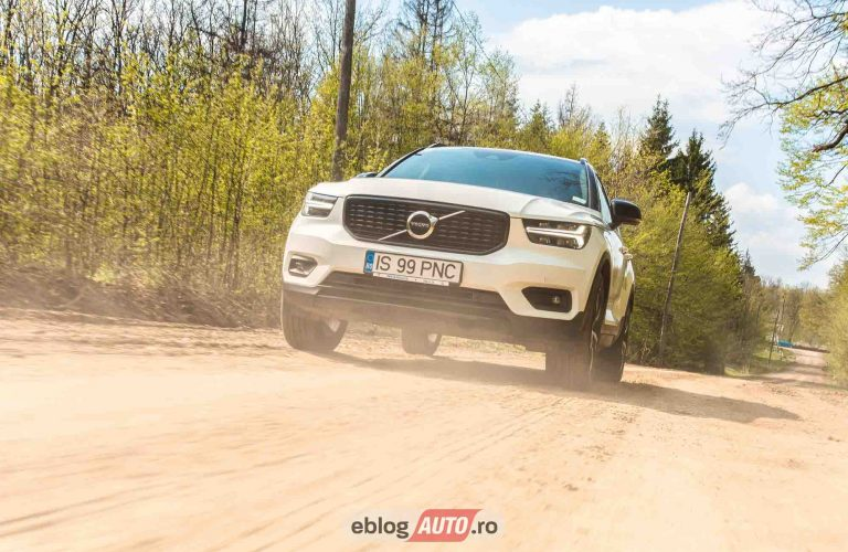 Test Drive VOLVO XC40 R-Design T4 | un soi de hot-hatch SUV care merge la sala si e confortabil [VIDEO]