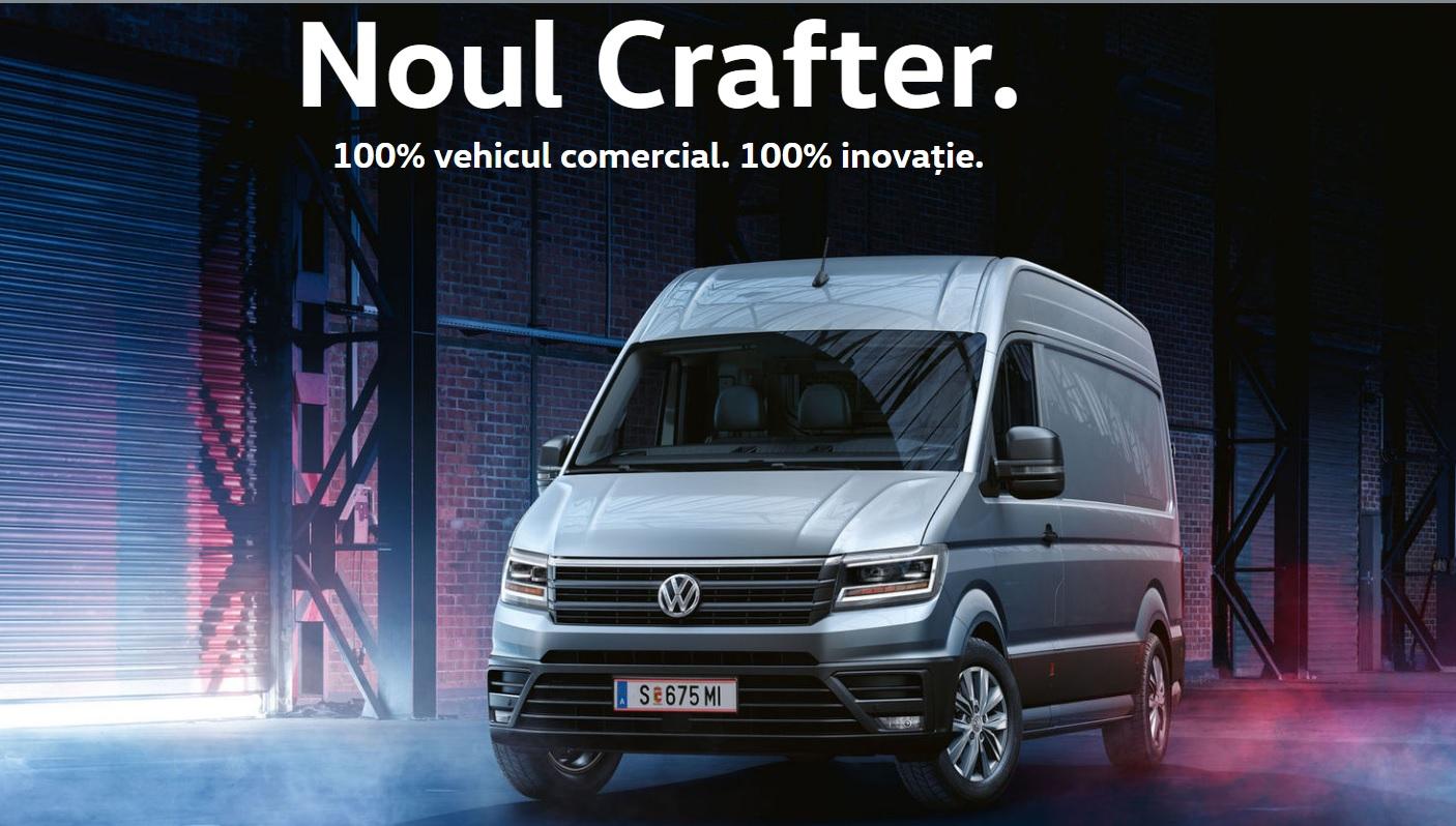 Noul Crafter are pret de pornire de la 22.703 euro [P]