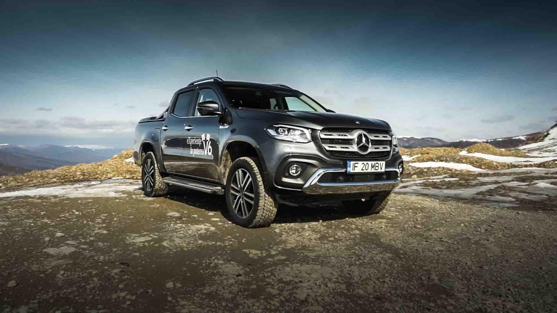 Test Drive Mercedes-Benz Clasa X V6 4MATIC 2019 [VIDEO]